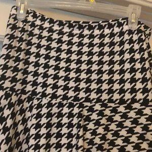Beautiful black and white layered skirt